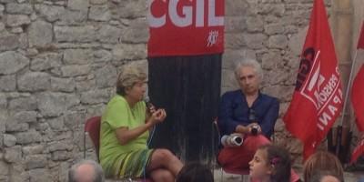 Susanna Camusso e Corradino Mineo ad Erice per CGL Incontri