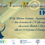 La ll edizione del Wheelchair Tennis Mediterranean Cup