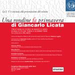 """""""Una rondine fa primavera"""" a Palazzo Steri"""