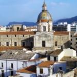 Palermo vista dall'alto
