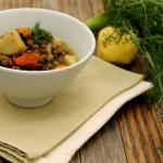 Zuppa di lenticchie, cozze e finocchietto di CosebuonediAle