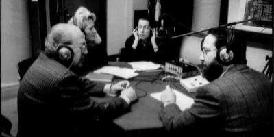 Sala di registrazione della Rai di via Cerda (1980)