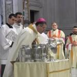 Monsignor Lorefice presiede i riti della Settimana Santa