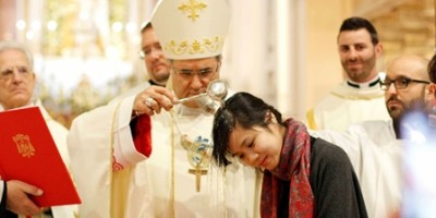 Sabato santo catecumeni