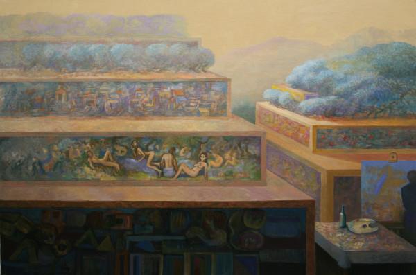 J. Picking, 'Calpe Terrace Fantasy'.