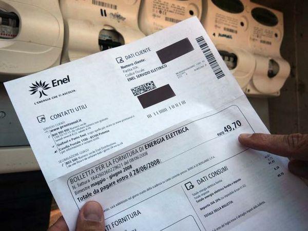 Enel bollette pagate in ritardo e interessi di mora for Pagare bolletta enel in ritardo