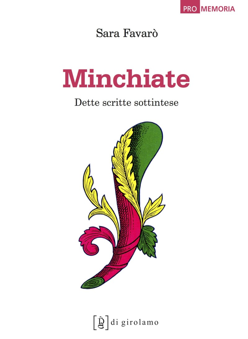 copertina Minchiate
