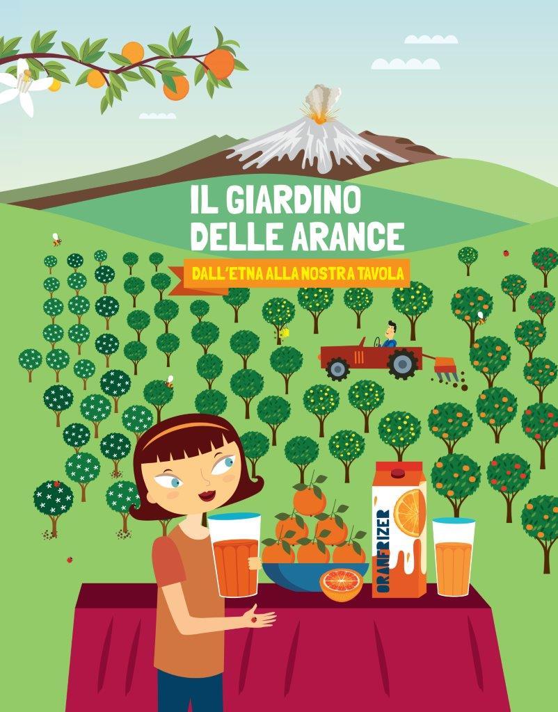Cover_Il Giardino delle Arance_Oranfrizer&LibriProgettiEducativi