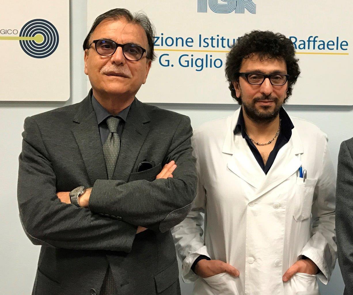 da destra: Vittorio Virgilio e Marcello Spampinato