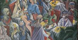 A villa Niscemi la retrospettiva di pittura di Giovanni David