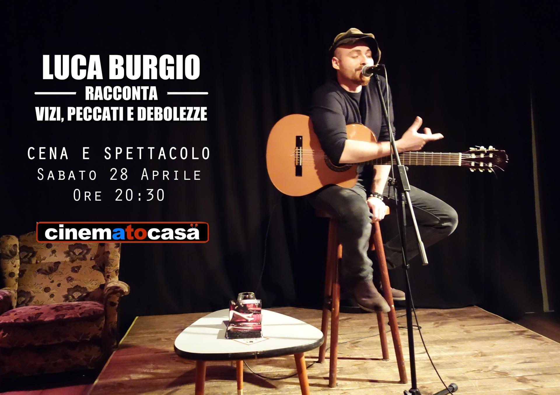 Luca Burgio - locandina cinematocasa